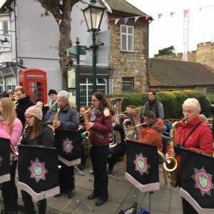 Musikverein Diedesfeld twinning trip to Lincoln Dec 2016